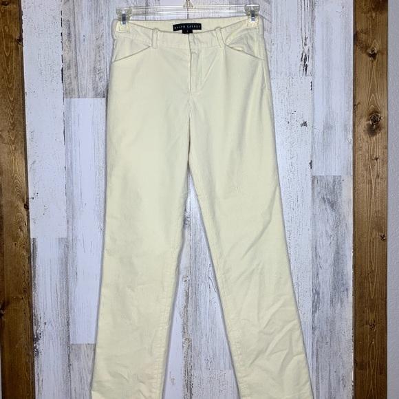 Ralph Lauren Black Label Pants - Ralph Lauren black label corduroy pants cream 2